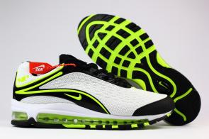 nike air max deluxe fit ebay hot 1999 green white black